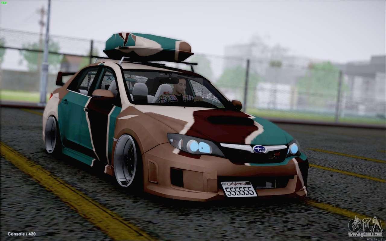 Subaru Impreza Arma For Gta San Andreas