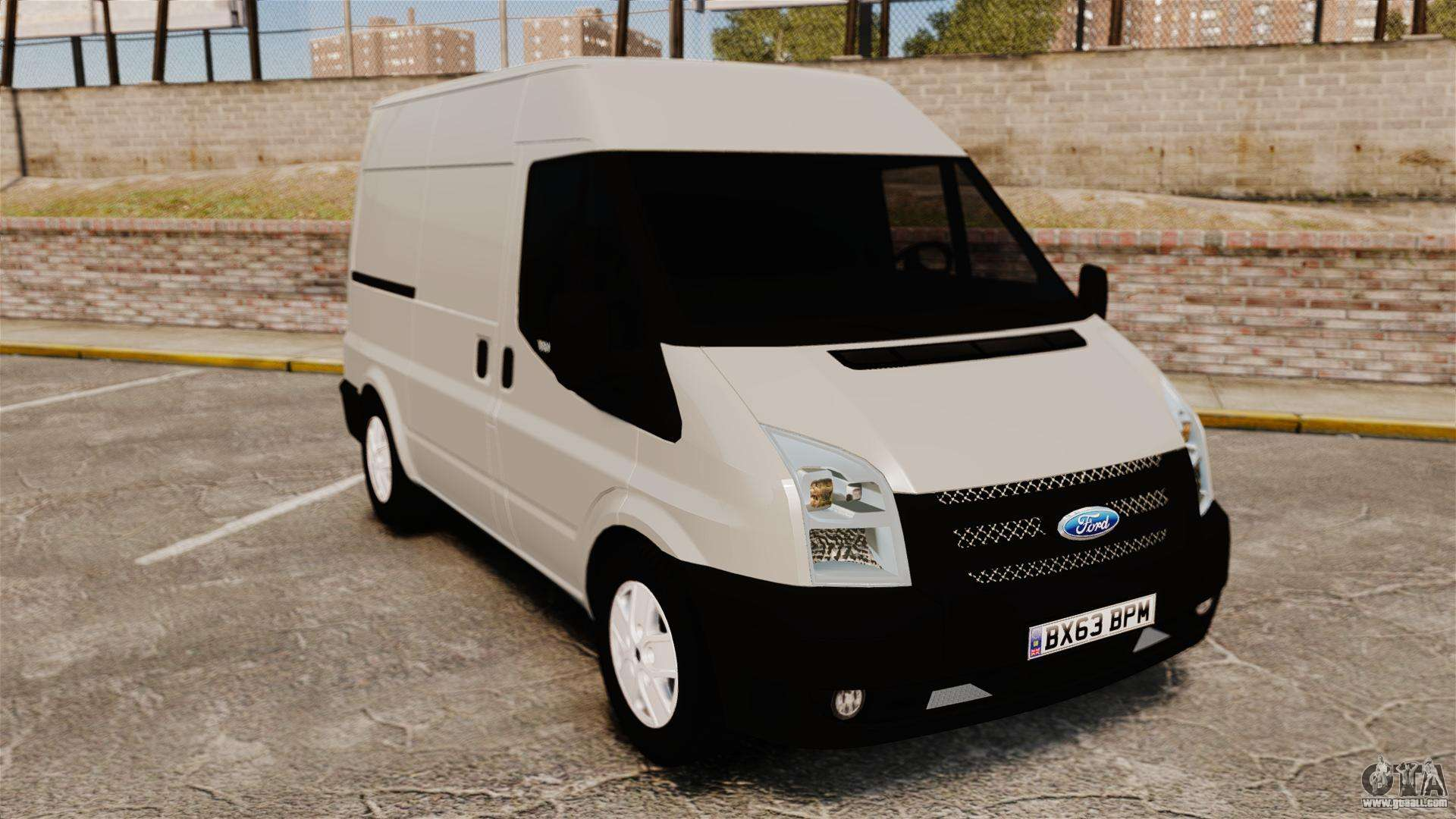 ford transit 2013 for gta 4. Black Bedroom Furniture Sets. Home Design Ideas