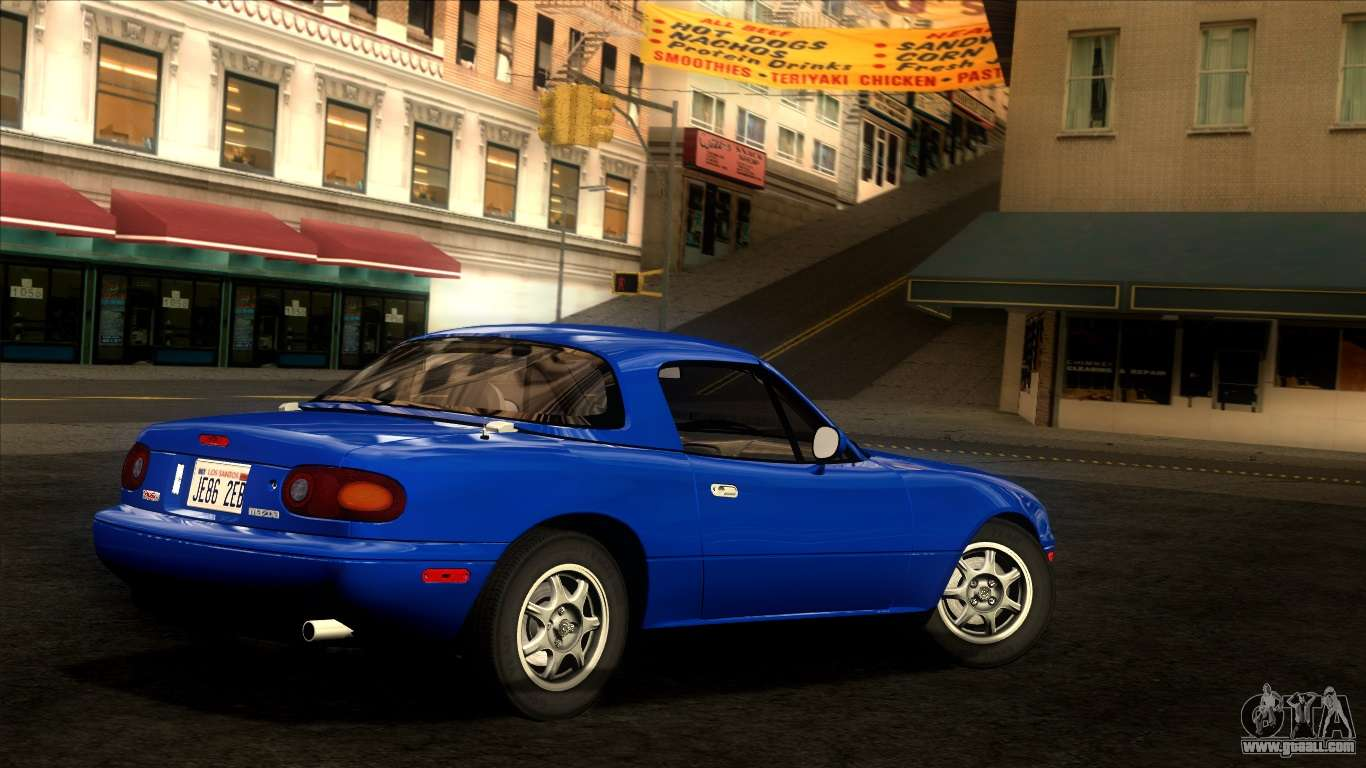 Mazda mx 5 miata na 1989 for gta san andreas