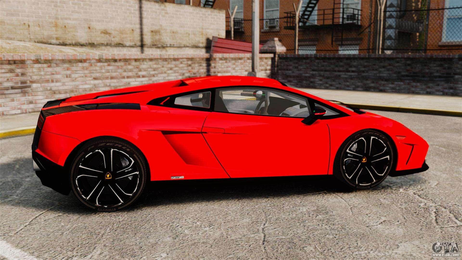 Lamborghini Gallardo 2013 for GTA 4