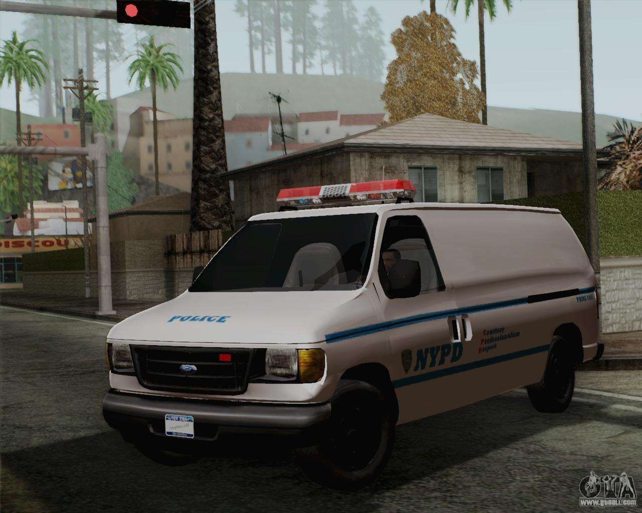 Ford F150 Police For Gta San Andreas