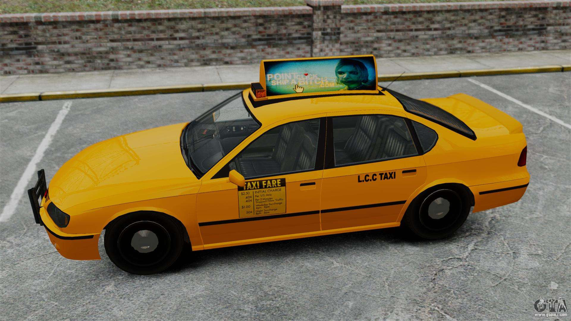 How to call taxi in gta