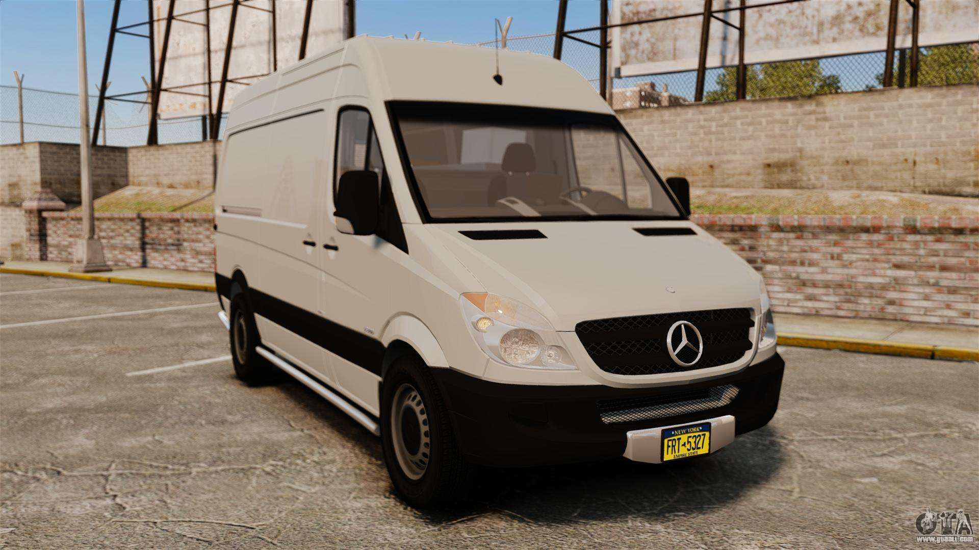 Mercedes benz sprinter 2500 delivery van 2011 for gta 4 for 2011 mercedes benz sprinter 2500