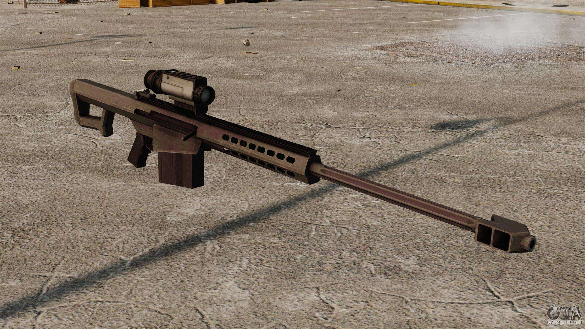 m107 sniper rifle - photo #12