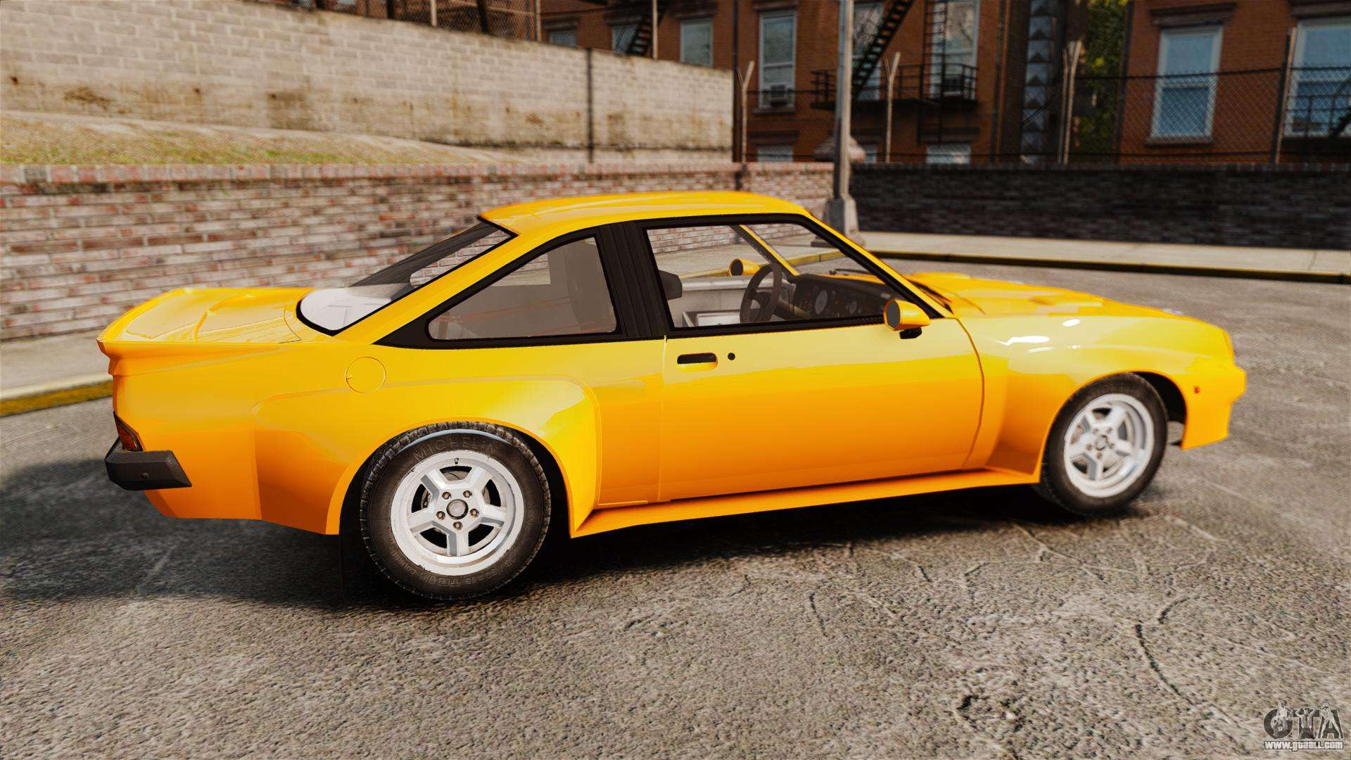 opel manta for gta 4. Black Bedroom Furniture Sets. Home Design Ideas