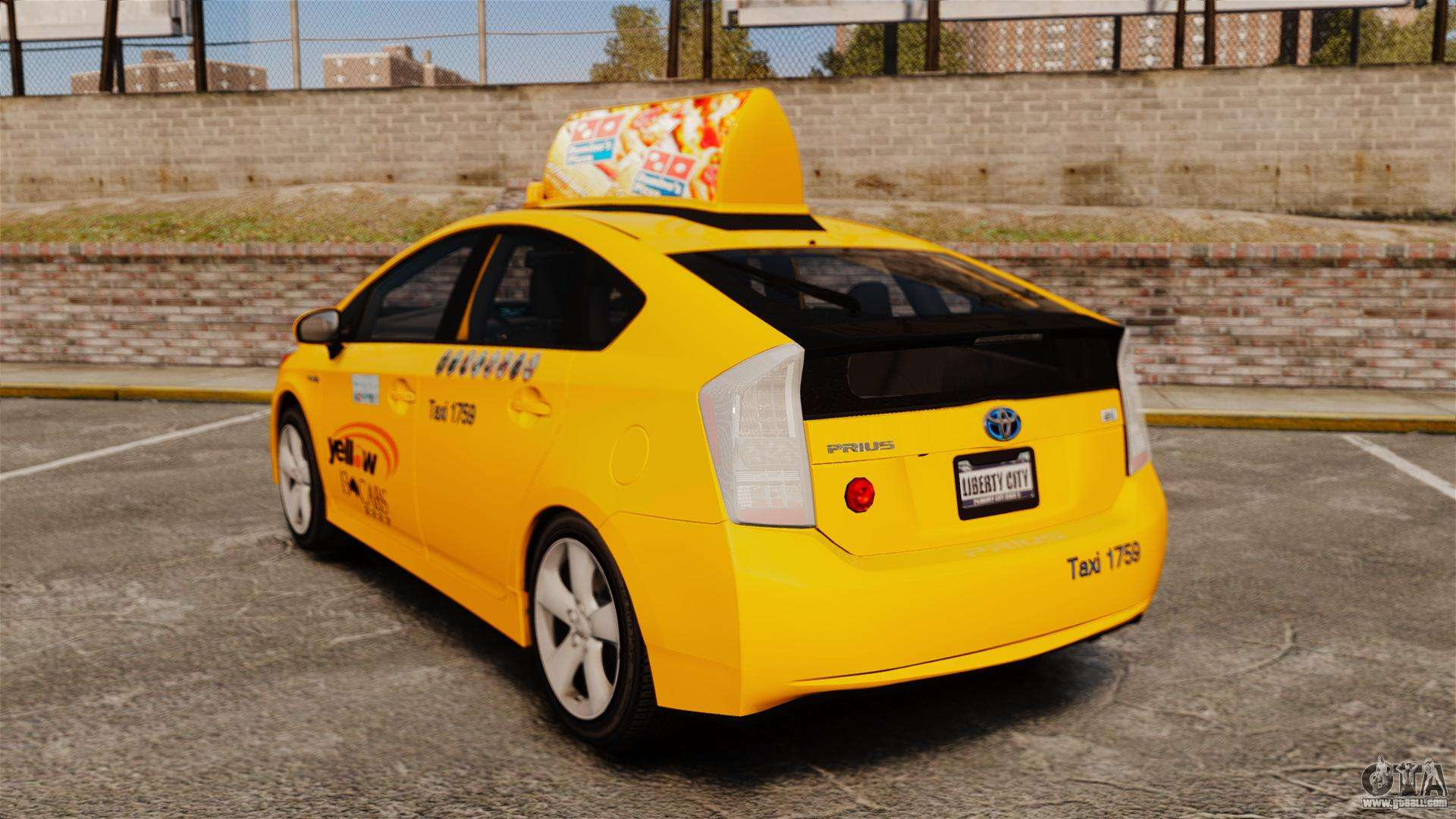 Toyota Premier Car >> Toyota Prius 2011 Adelaide Yellow Taxi for GTA 4