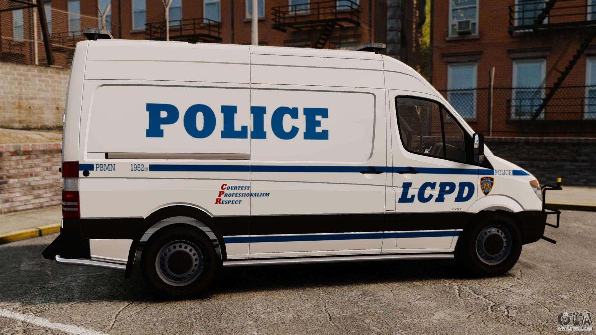 Mercedes benz sprinter 2500 prisoner transport for gta 4 for Mercedes benz sprinter 2500