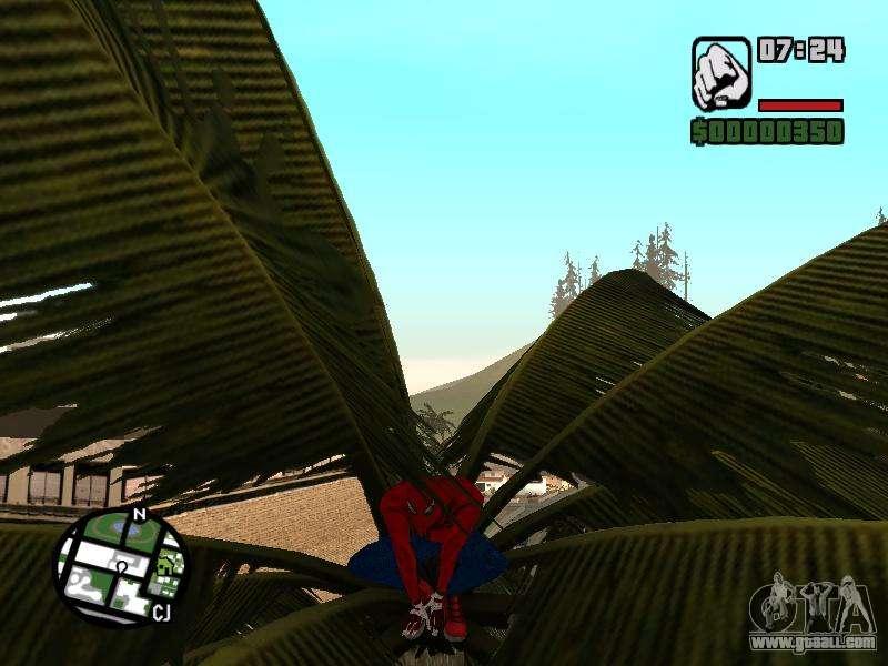 Для Gta San Andreas Моды Spider Man