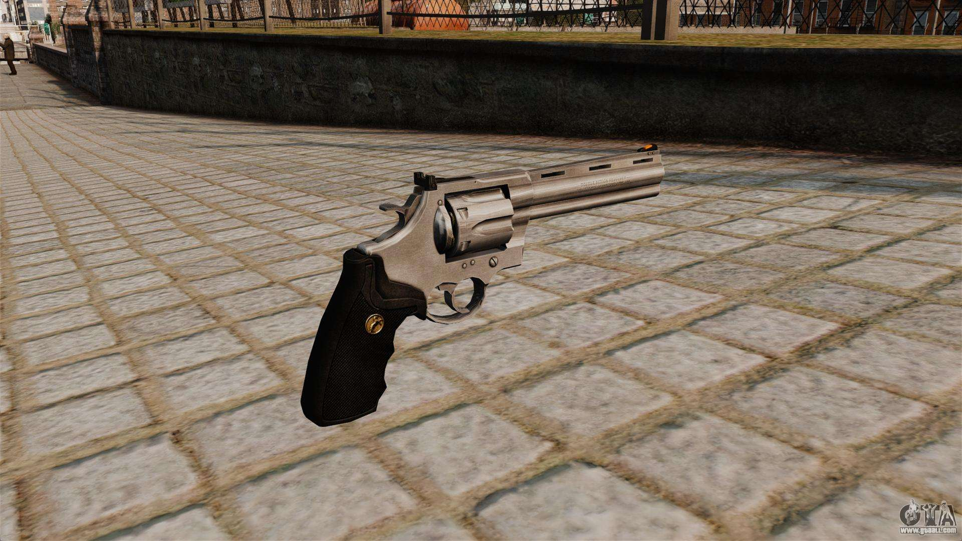 Revolver Colt Anaconda for GTA 4