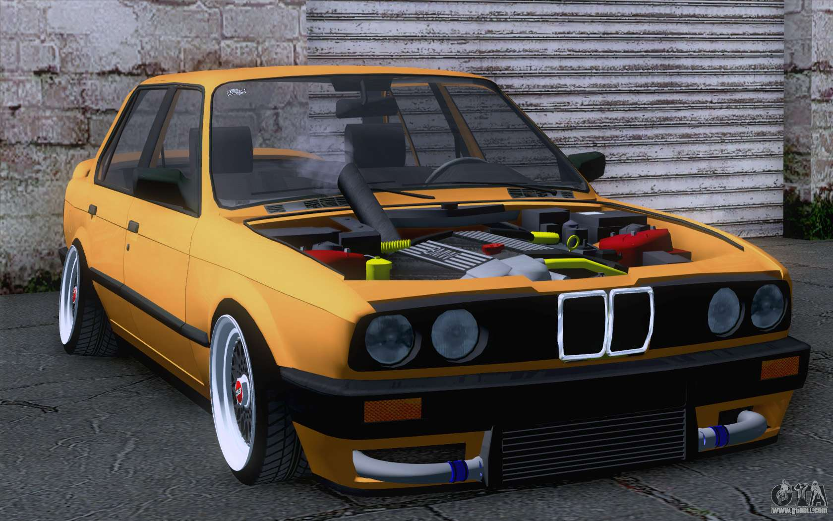 bmw e30 325i for gta san andreas. Black Bedroom Furniture Sets. Home Design Ideas