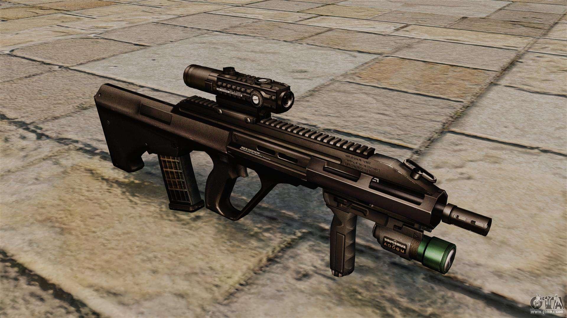 Steyr aug a3 rifle for gta 4 voltagebd Gallery