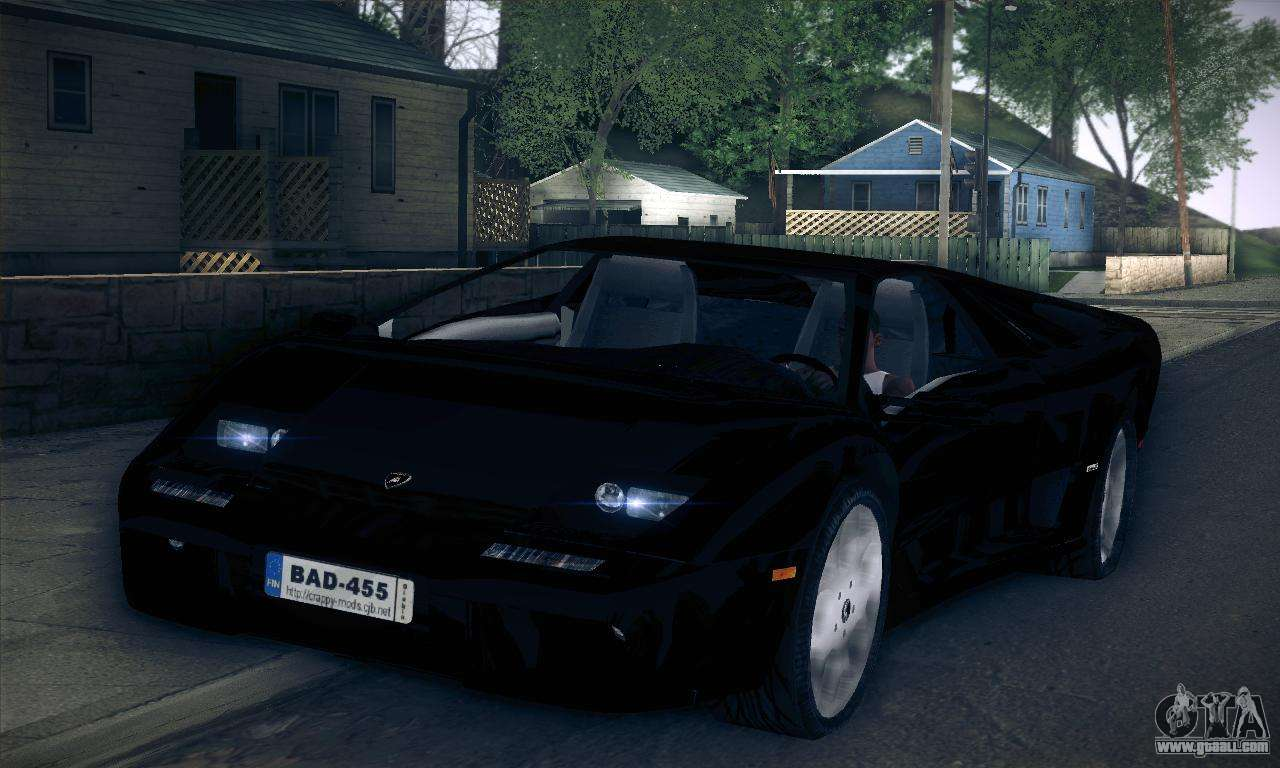 Lamborghini Diablo Vt 60 Gta Vice City Lamborghini Super Car