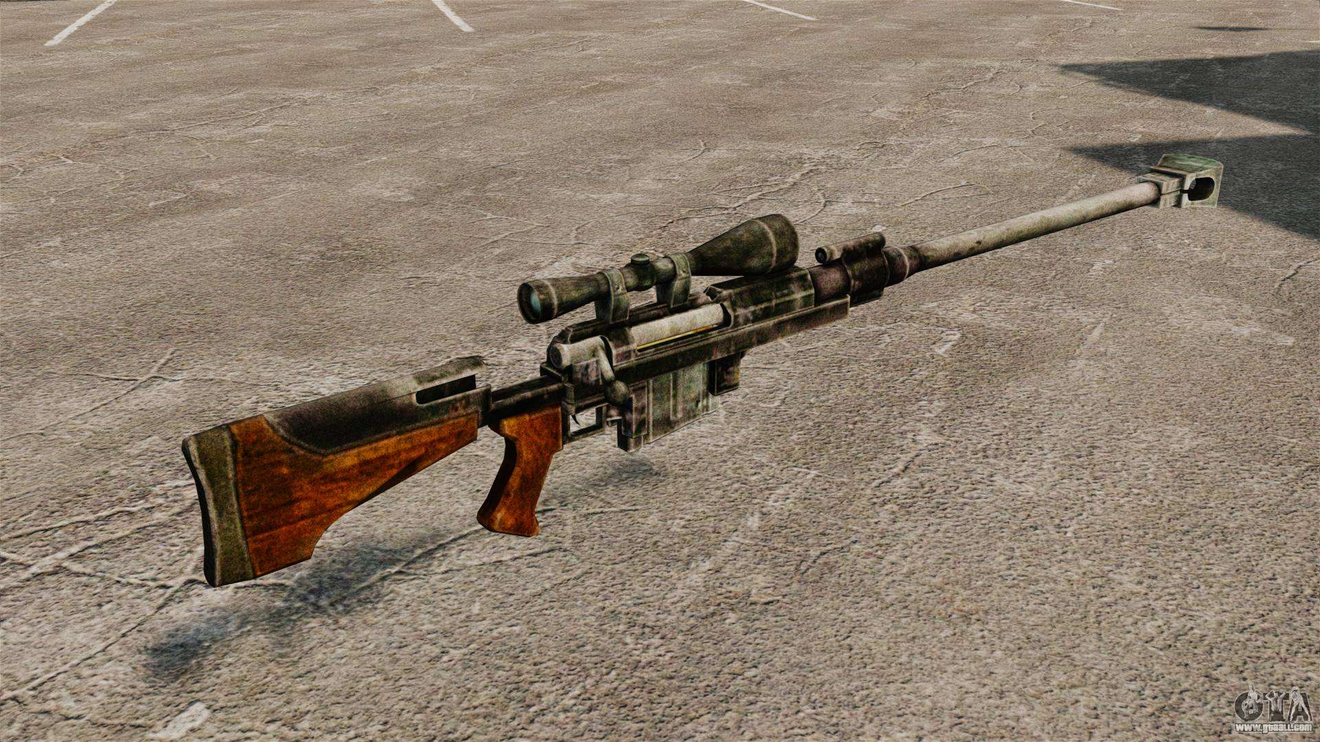 Anti Materiel Rifle anti-materiel rifle for gta 4