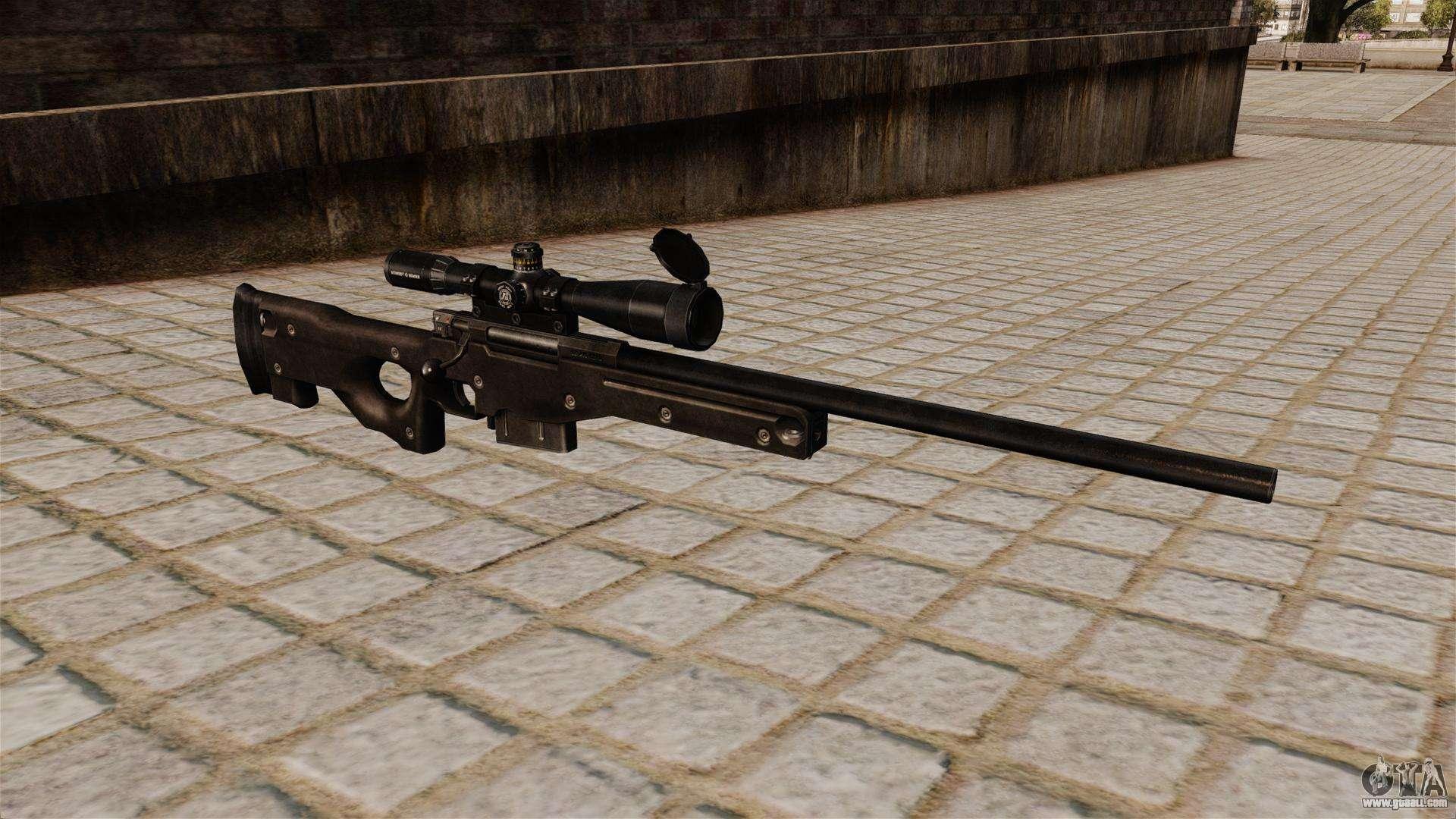 AI Arctic Warfare Sniper Rifle Magnum For GTA 4