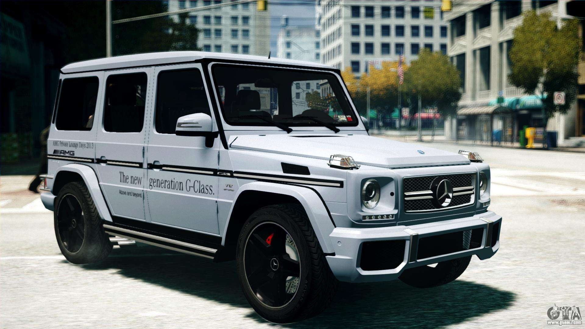 Other cars mercedes benz g 280 edition mercedes benz g - Mercedes Benz G65 Amg 2013 For Gta 4 Cars