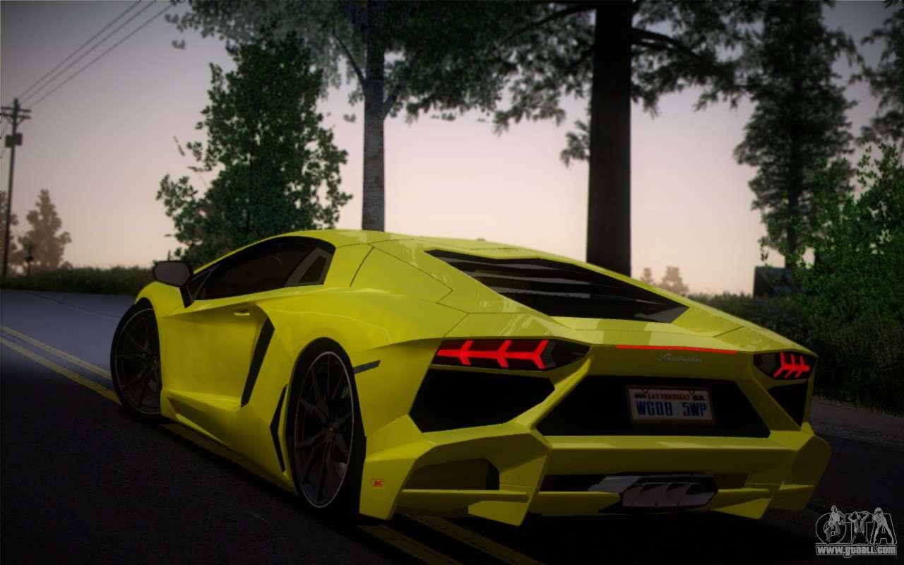 Lamborghini Aventador LP720-4 50th Anniversario for GTA ...