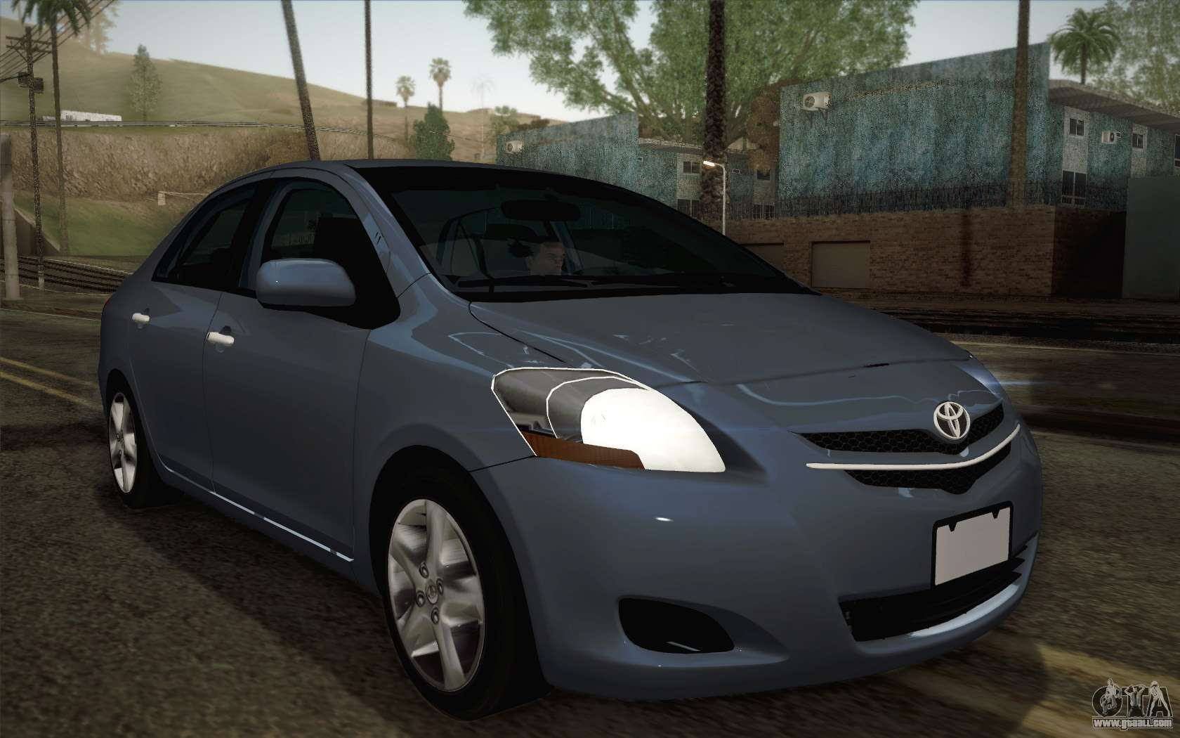 Car Dashboard Lights >> Toyota Vios 2008 for GTA San Andreas