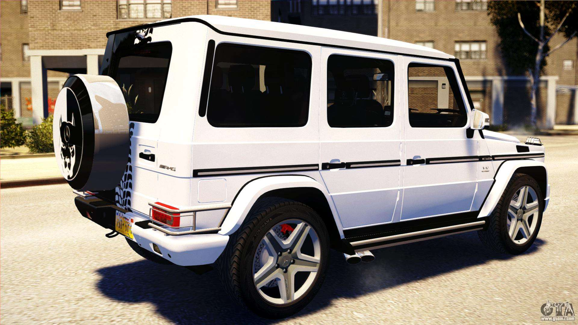 mercedes benz g65 amg 2013 for gta 4 left view