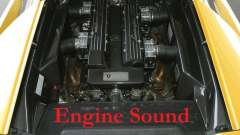 Engine sound Lamborghini Murcielago