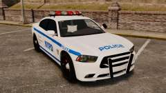 Dodge Charger 2012 NYPD [ELS] for GTA 4