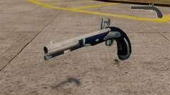 Flint-lock pistol