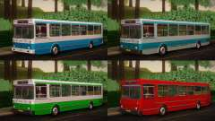 LIAZ 5256.00 Skins Pack 4 for GTA San Andreas