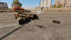Assault rifle SCAR LMG for GTA 4