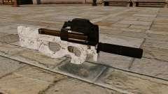 P90 submachine gun Arctic Camo