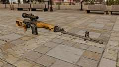 Dragunov sniper rifle for GTA 4