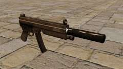 The MP5 submachine gun with silencer