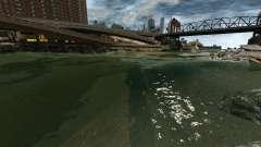 Clean sea for GTA 4