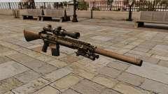 The M110 sniper rifle