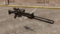 The SR-25 sniper rifle for GTA 4