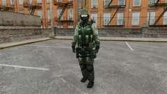 An American commando Urban