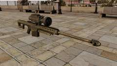 The Barrett M82 sniper rifle