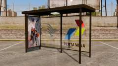 Bus stops Naruto for GTA 4