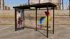 Bus stops Naruto