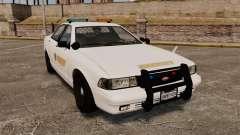 GTA V Police Vapid Cruiser Sheriff