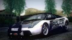 Lamborghini Murciélago Police 2005 for GTA San Andreas