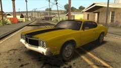 Sabre HD from GTA 3 for GTA San Andreas