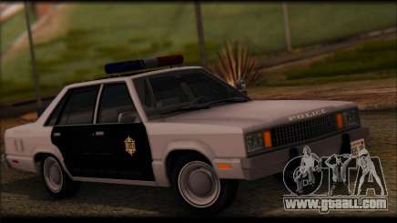 Ford Fairmont 1978 4dr Police for GTA San Andreas