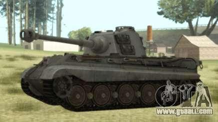 PzKpfw VIB Tiger II for GTA San Andreas