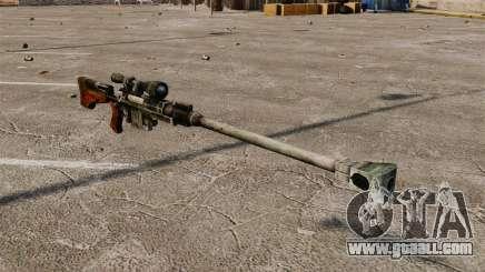 Anti-materiel rifle for GTA 4