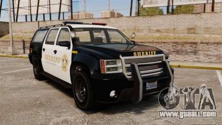 GTA V Declasse Granger Sheriff for GTA 4