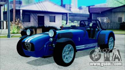 Caterham R500 Superlight 2008 for GTA San Andreas