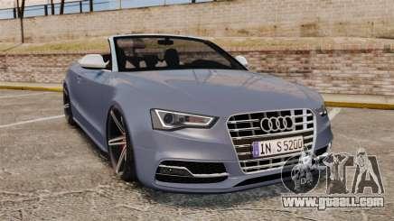 Audi S5 Convertible 2012 for GTA 4
