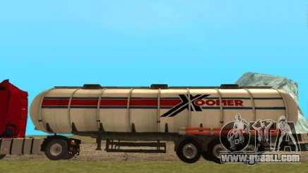 Tank Xoomer for GTA San Andreas