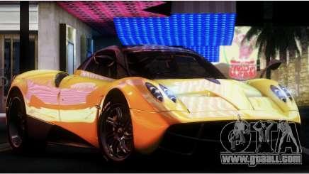 Pagani Huayra 2013 for GTA San Andreas