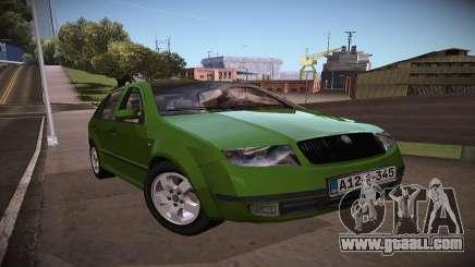 Skoda Fabia for GTA San Andreas