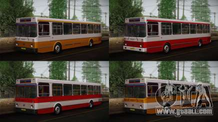 LIAZ 5256.00 Skin 3-Pack for GTA San Andreas